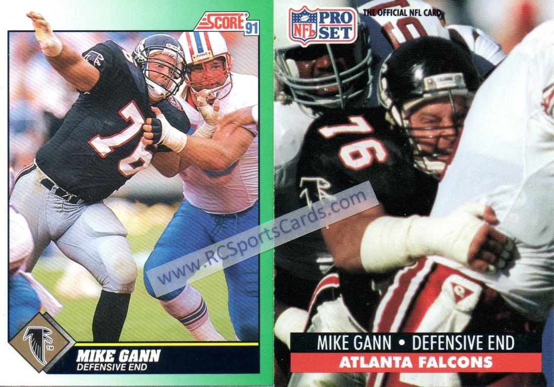 1990 1991 atlanta falcon football cards from brett favre. Black Bedroom Furniture Sets. Home Design Ideas