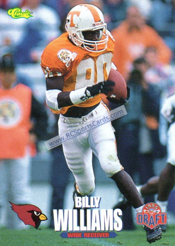 1995 1999 Tennessee Vols Football Trading Cards